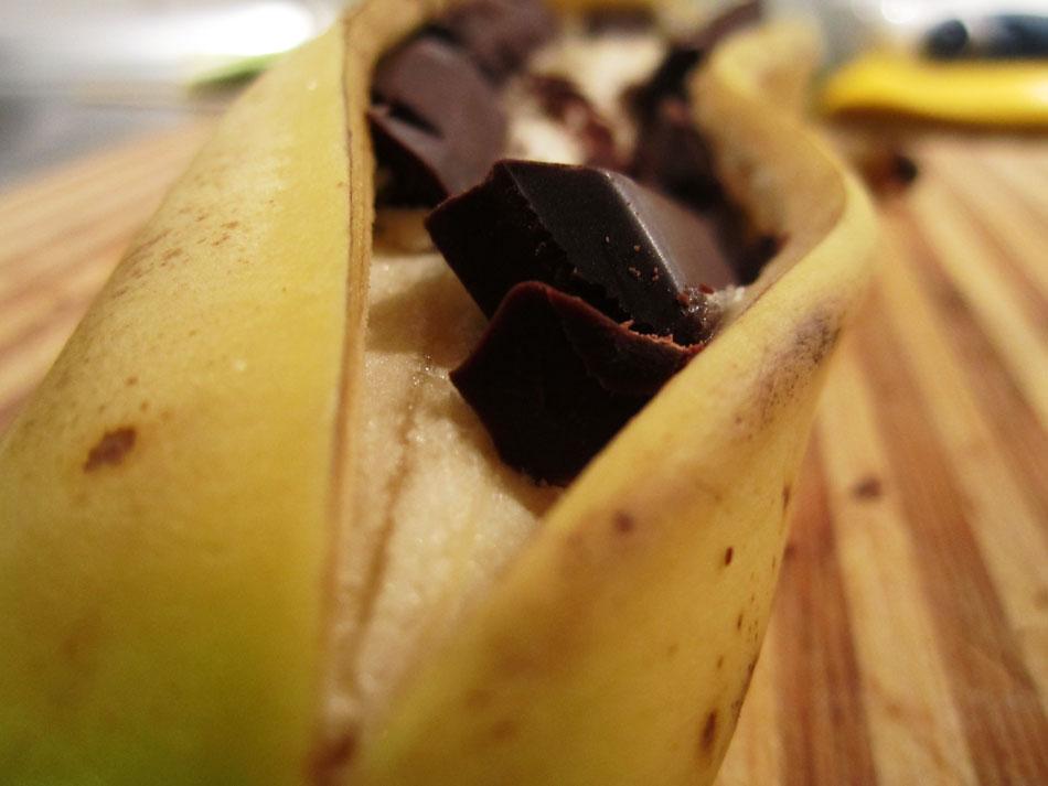 Gegrillte banane06