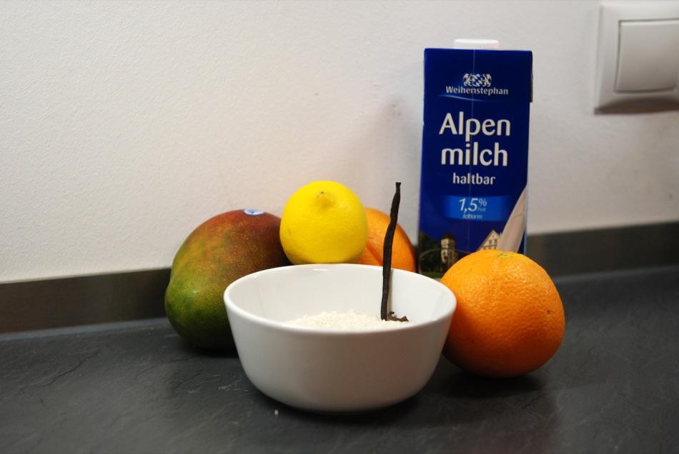 Milchreis mango 2