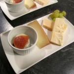 Heiß-Kalte Variation vom Ziegenkäse mit Manchego-Parfait & Camembert aus dem Ofen