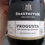 BraufactuM Palor & Progusta zu Rindertatar, Rettich-Salat und Tomatensaft mit Kapern