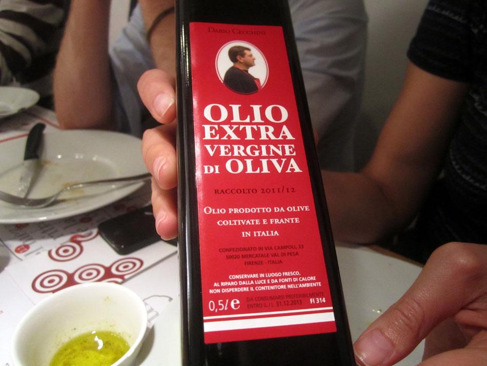 Dario Cecchini - Olivenöl