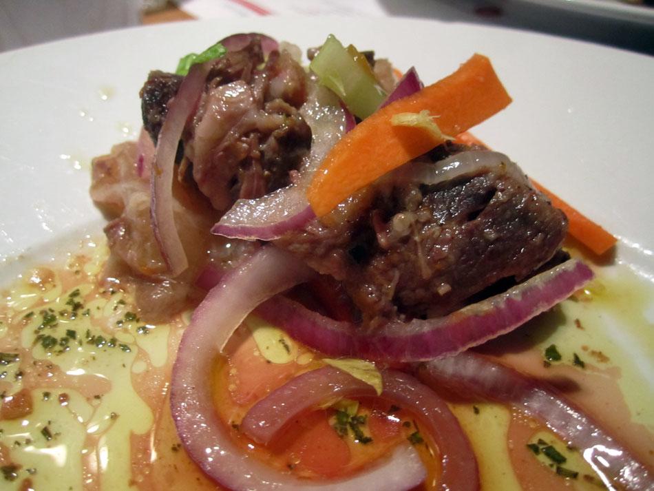 Dario Cecchini - Gekochtes Fleisch mit rohem Gemüse