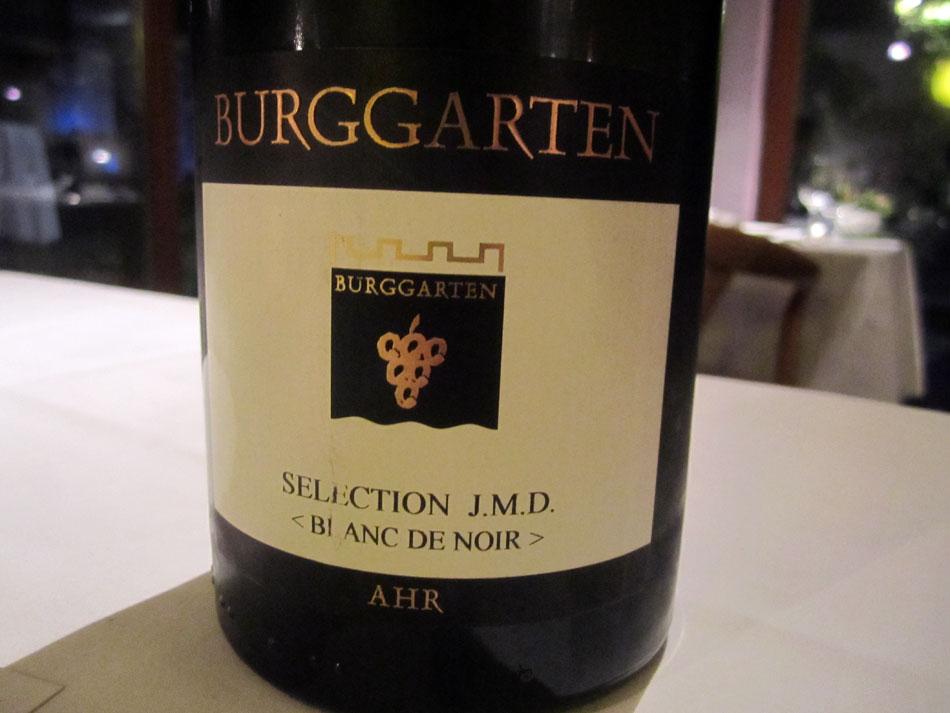 2010 Weingut Burggarten Blanc de Noir Spätburgunder Selection J.M.D. Ahr