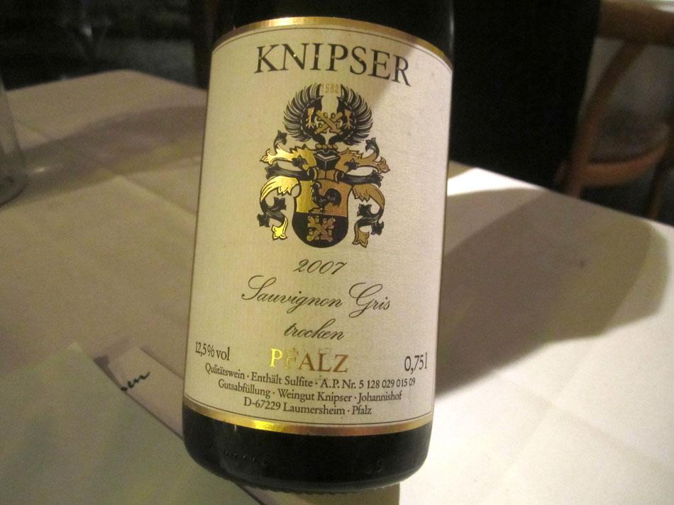 2007 Weingut Knipser Sauvignon Gris, trocken, Pfalz