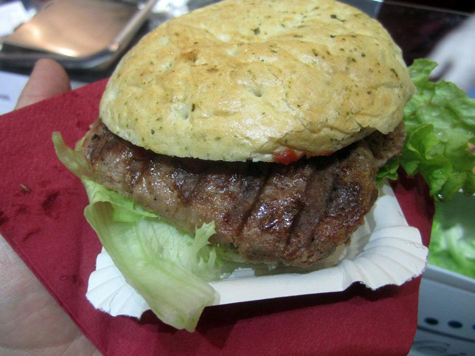 Burger vom Auerochsen