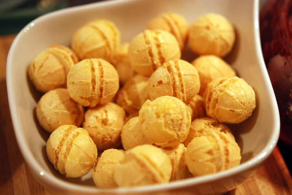 Käsebällchen mit Roquefort