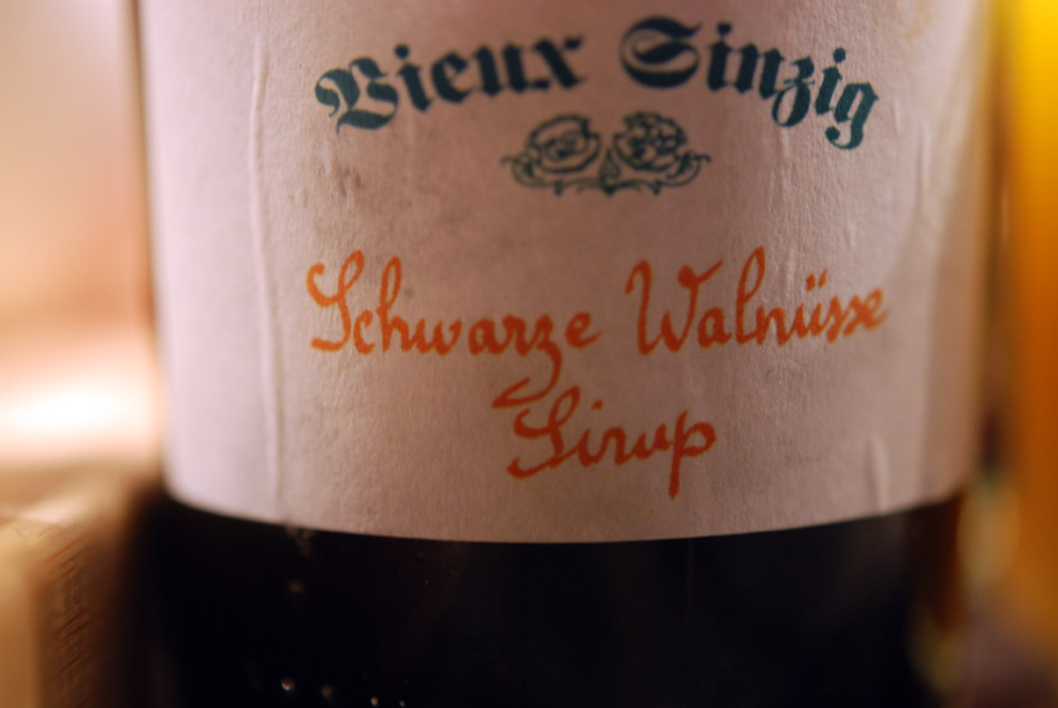Sirup von Schwarzen Walnüssen von Vieux Sinzig