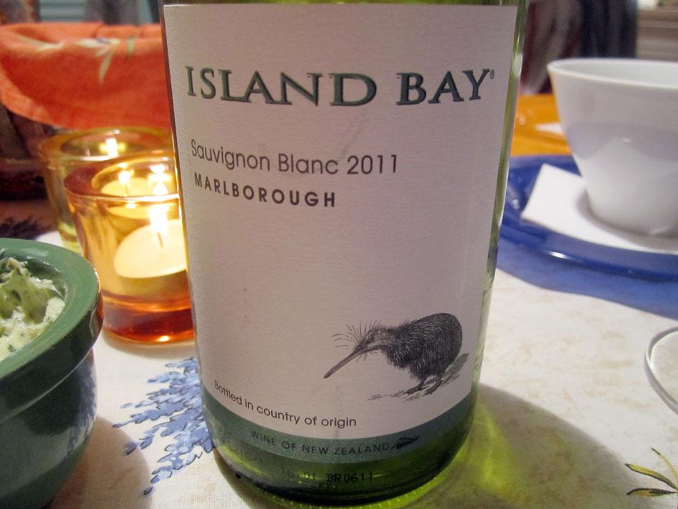 Island Bay - Sauvignon Blanc 2011 - Marlborough - Neuseeland
