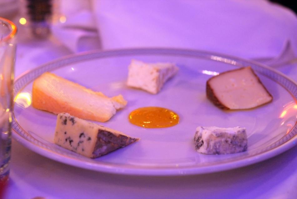 Auswahl verschiedene Käsesorten - Restaurant Hohenzollern