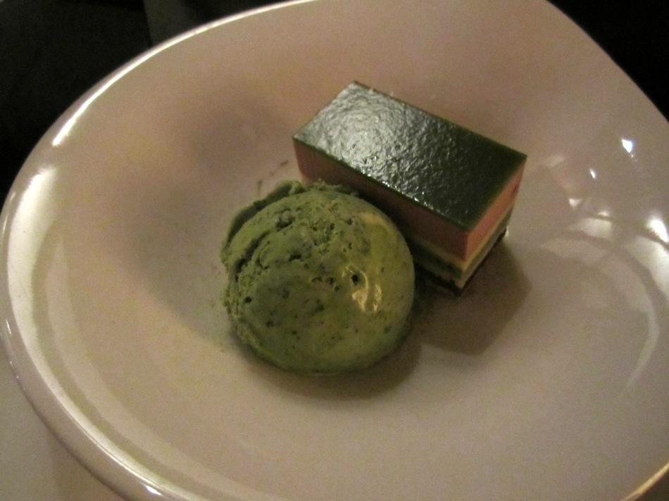 Variation vom grünen Tee