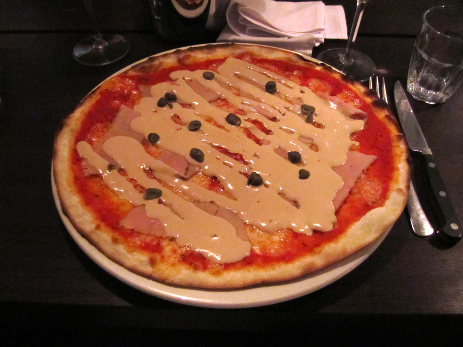 Pizza Vitello tonnato