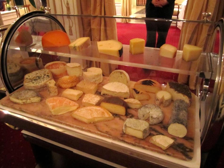 Auswahl vom Käsewagen
