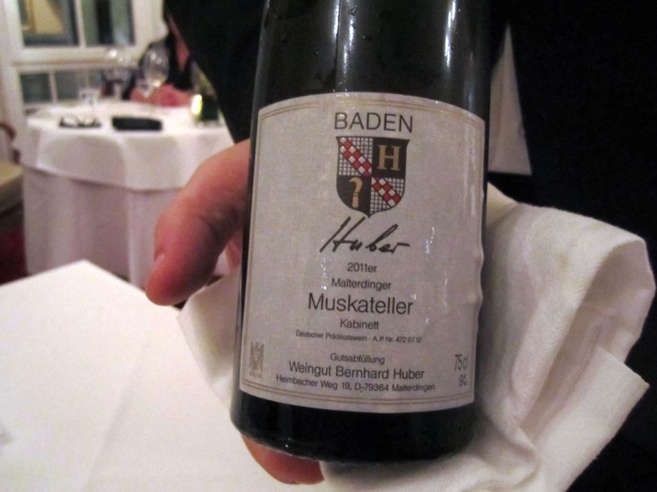 Aus der Reihe: Malterdinger Muskateller Kabinett - 2011 - Huber - Baden