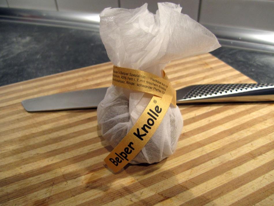 Gepfefferter Käse: Belper Knolle mit Butter und Tagliatelle