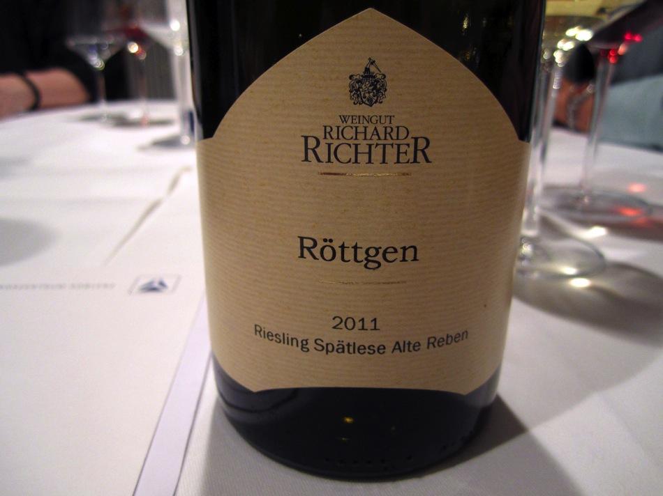 Weingut Richard Richter - Riesling Spätlese Alte Reben 2011