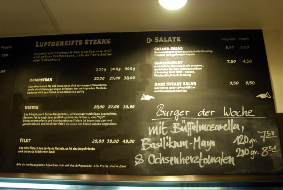 Burger-Restaurant: Die Fette Kuh in Köln - Burger, Steaks und Fritten