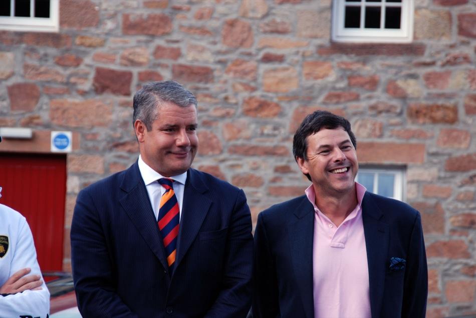 CEO Paul Skipworth und Dr. Bill Lumsden
