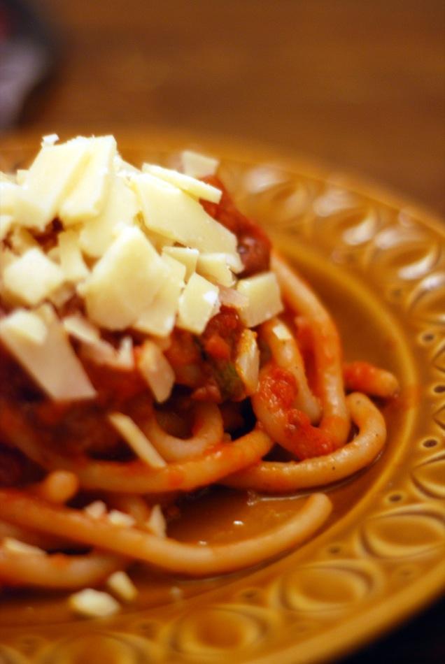 toskanischen Ragù alla Bolognese