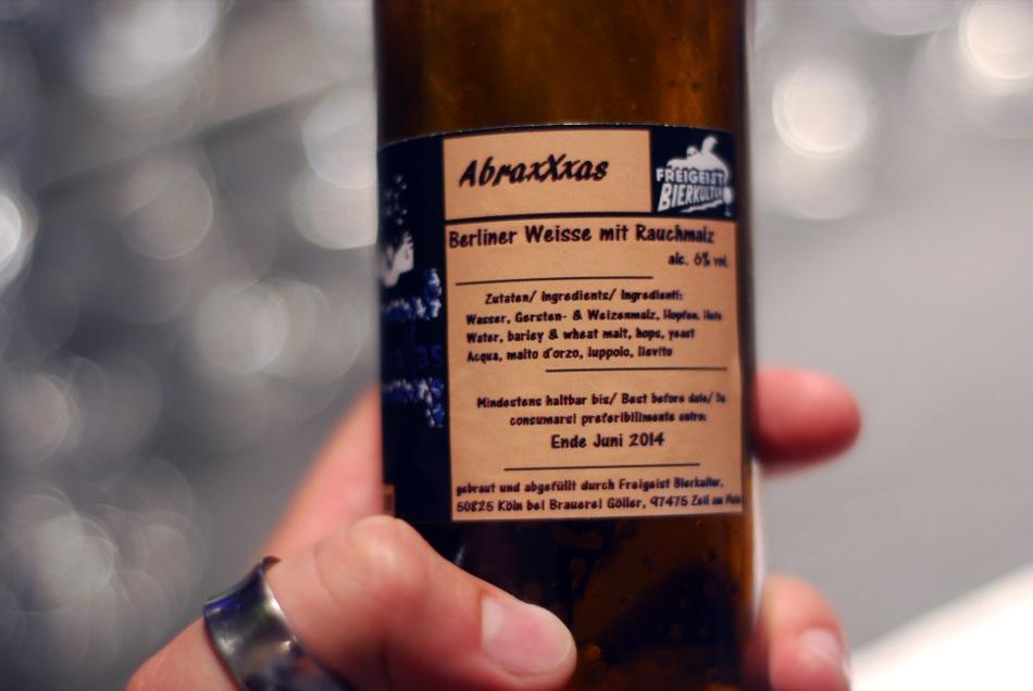 Abraxxxas (Berliner Weisse Rauchmalz)