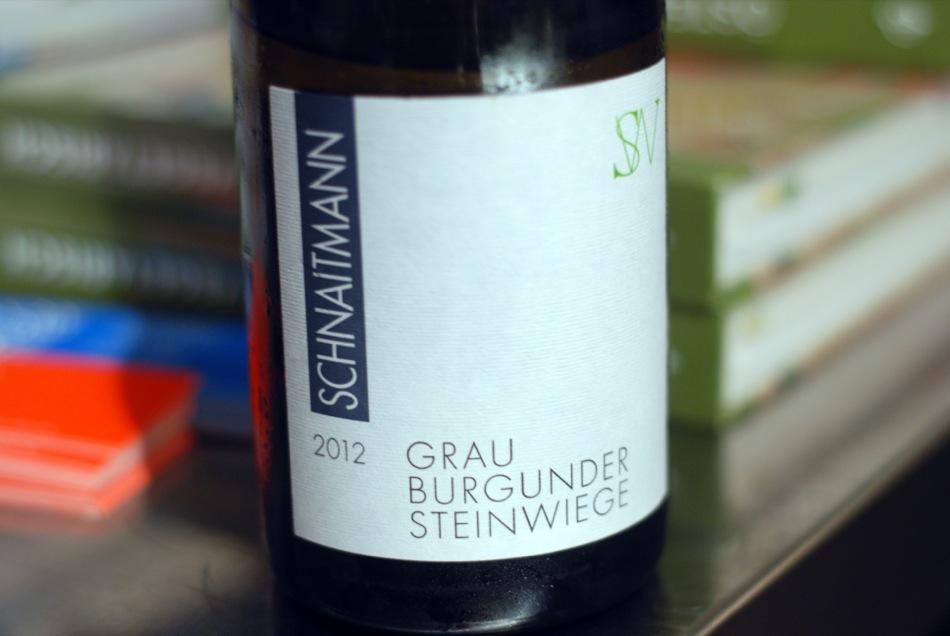 Grauburgunder Steinwiege trocken 2012 Rainer Schnaitmann