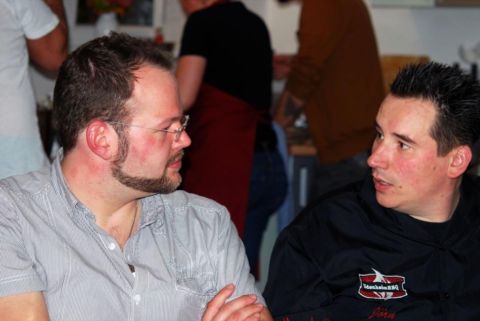 Jörn von Udenheim BBQ und der Küchenjunge
