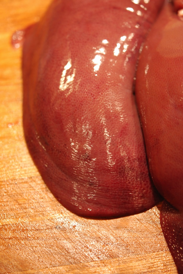 Schweineleber Berliner Art vom Schwäbisch Hällischen mit Zwiebeln und Äpfeln