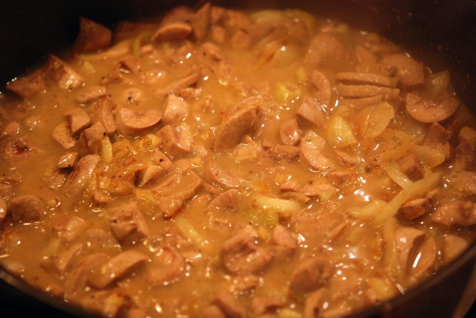 Saure Nierchen vom Schwäbisch-Hällischen Schwein mit Kartoffelpüree