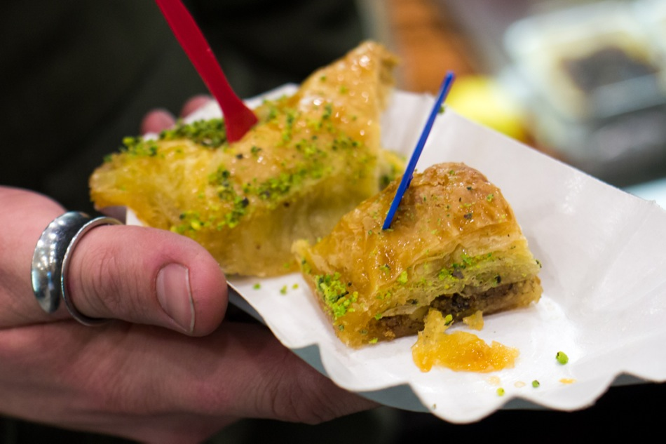 Und danach noch beim Türken tolles Baklava essen - Foto ohallmann