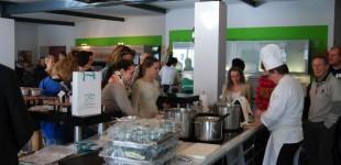 Zu Besuch auf dem ersten Bonner FoodCamp 2014 mit u.a. Jean-Marie Dumaine