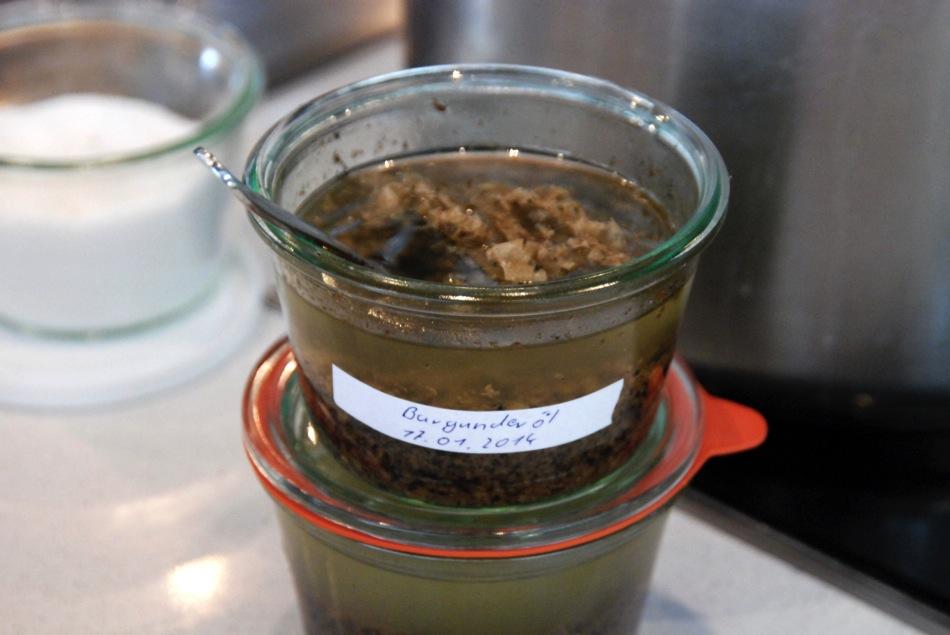 Burgundertrüffel-Öl