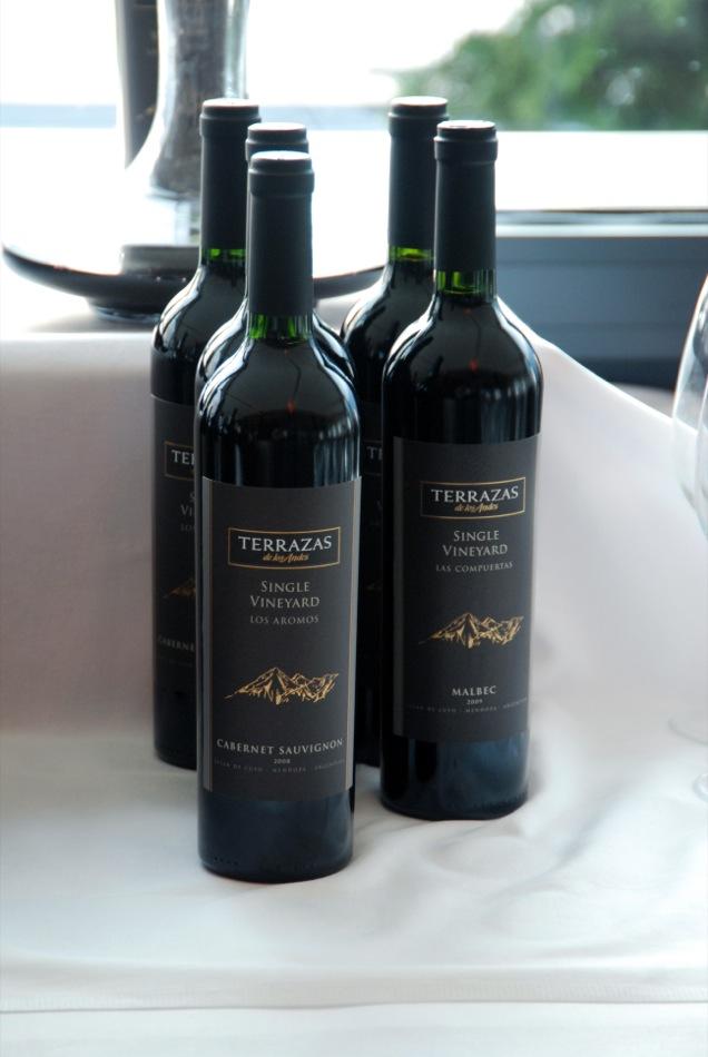 Terrazas - Single Vineyard - Los Aromos Cabernet Sauvignon 2008 & Las Compuertas Malbec 2009