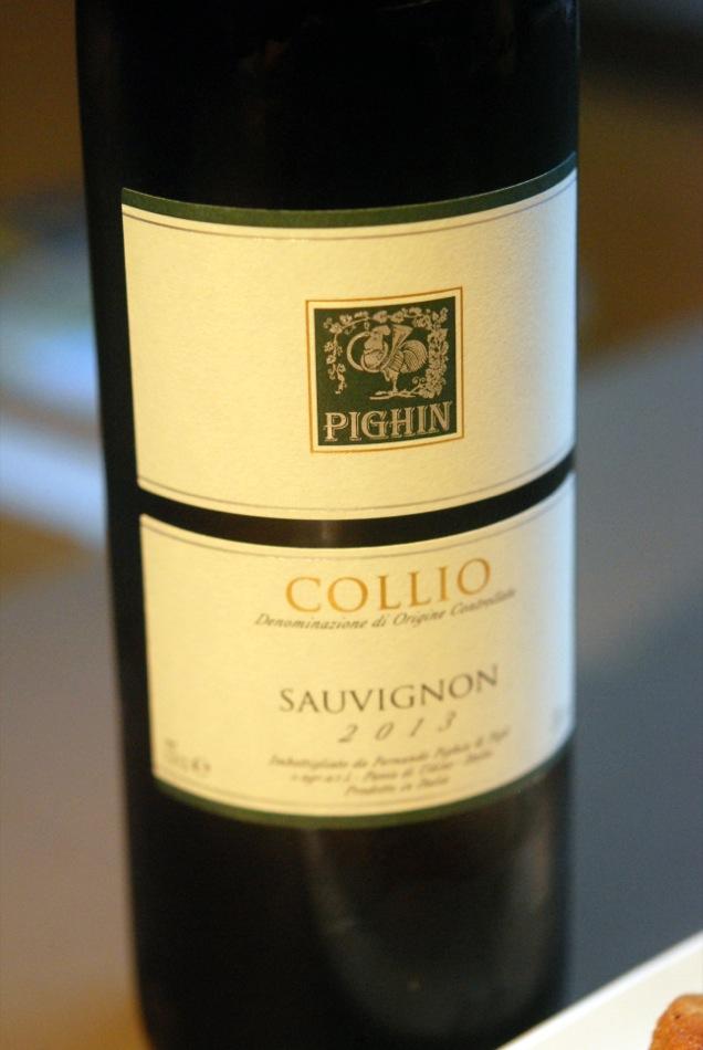 2013er Sauvignon Blanc Collio vom Weingut Pighin aus dem Friaul