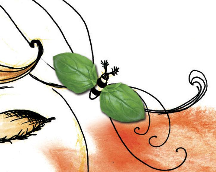 Die beste Tomatensauce der Welt - Illustration