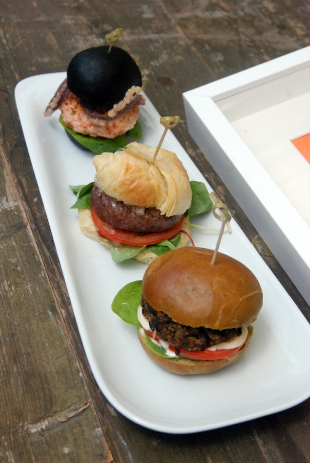 3 Slider - Umami Burger Variation