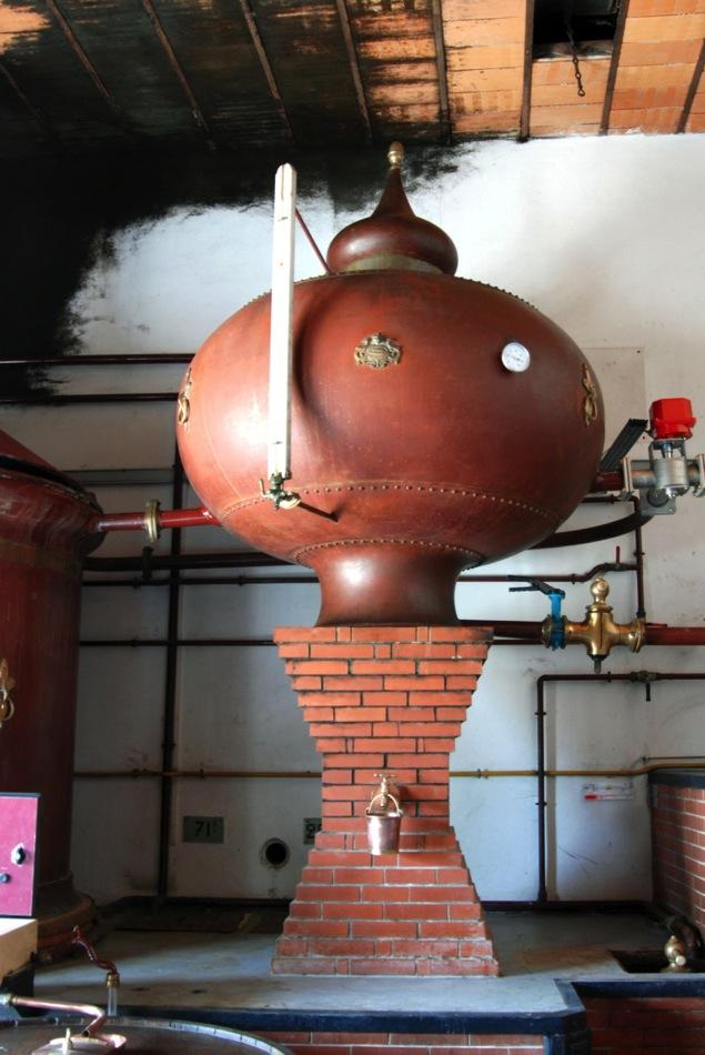 Cognac Brennblase Destillerie