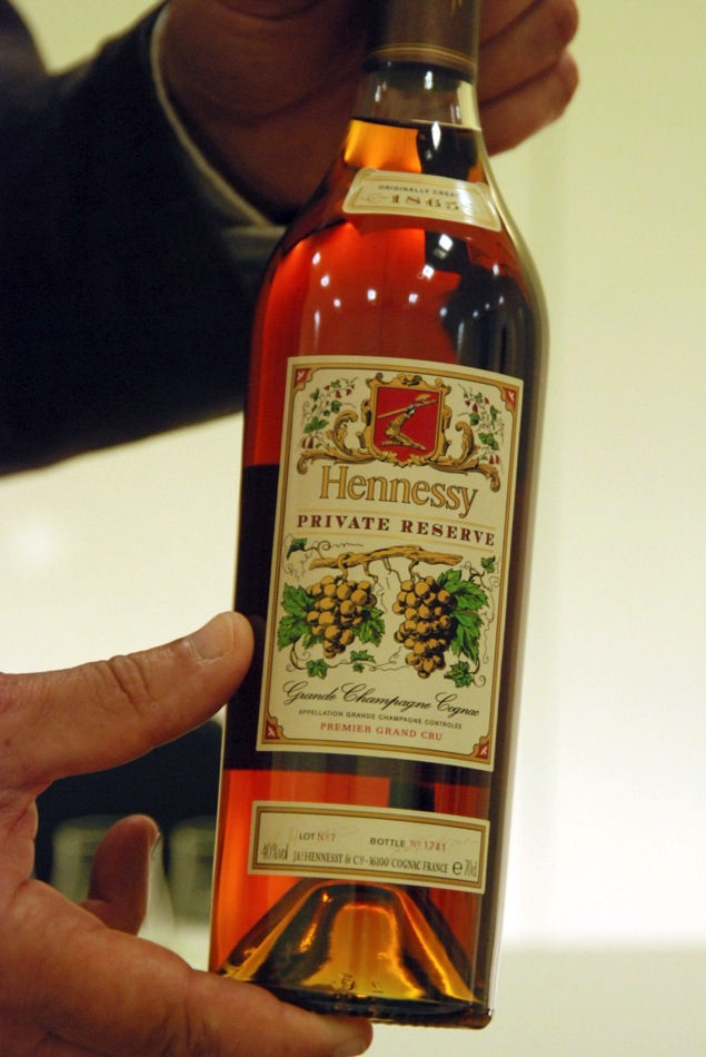 Cognac Hennessy Private Reserve