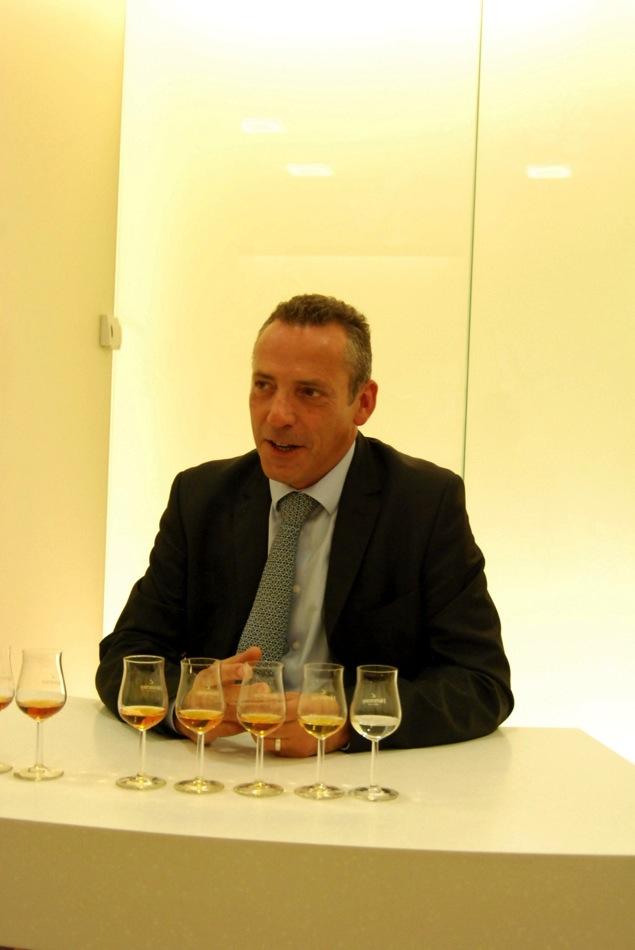 Olivier Paulte, Mitglied des Tasting Komitees