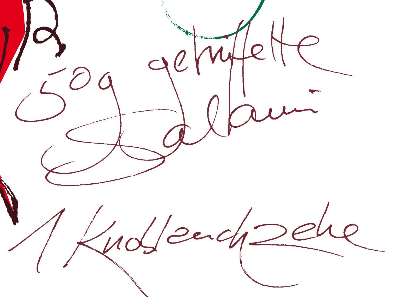RadiKalender 2014 - Rezept September - Gefülltes Iberico-Kotelett vom Grill