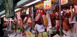 Urlaub in Spanien - ein Blick in die Markthalle in Denia