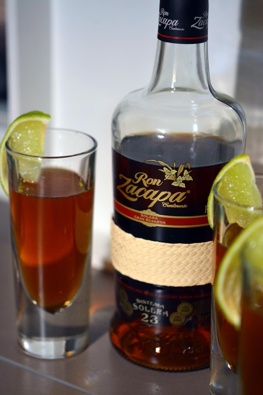 Maple Old Fashioned mit Ron Zacapa 23 Rum