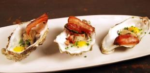 Gebackene Austern mit Wachtelei & Bacon zur Rosé Dinner Party inkl. Verlosung
