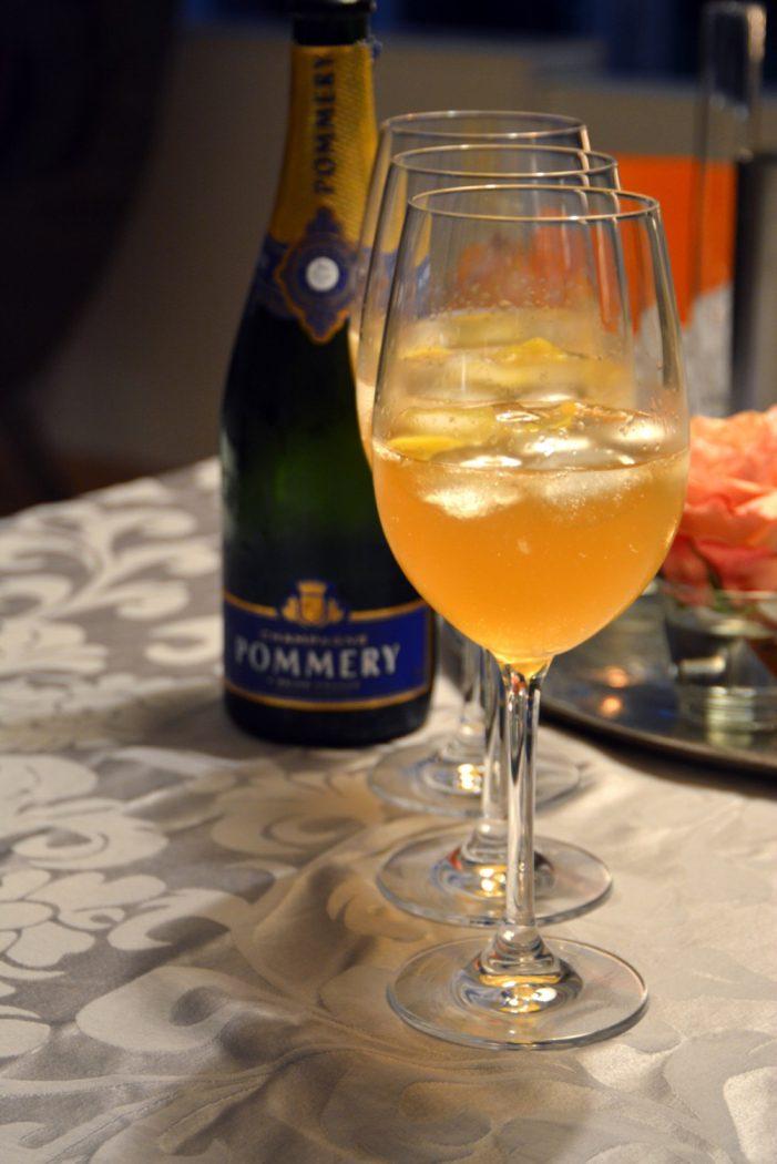 champagner cocktail french elegance mit cognac k chenjunge. Black Bedroom Furniture Sets. Home Design Ideas