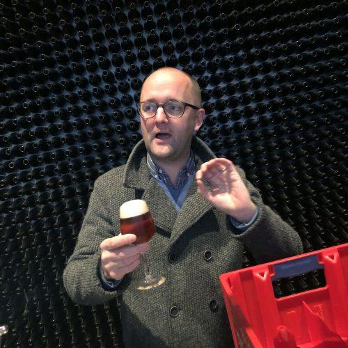 Bier-Sommelier Nicolas Soenen